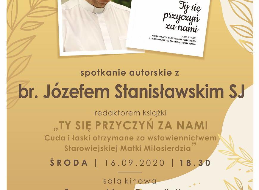 Spotkanie autorskie z br. Józefem Stanisławskim SJ