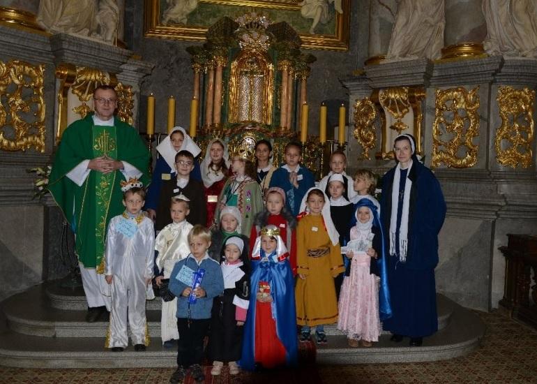 Parada świętych w naszej parafii