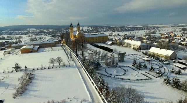 Zima 2017 –  Brzozów, Stara Wieś – zdjęcia z drona St. Cyparski